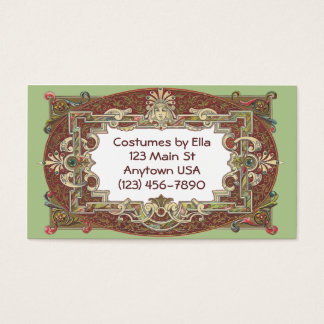 Theatrical and Ornate Business Cards