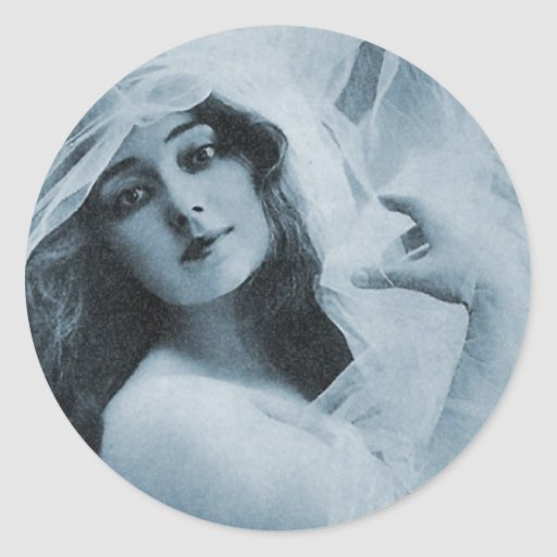 Theatrical Beauty Classic Round Sticker