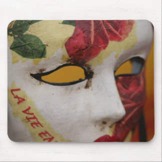 Theatrical Mask Mouse Pad