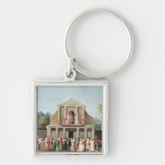Theatrical Performance at the Saint-Laurent Key Chain