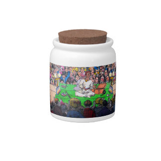 """Theatrical Reflection"" Candy Jar"