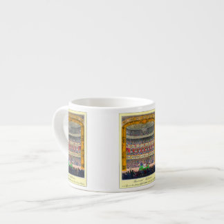 """""""Theatrical Reflection"""" Espresso Cup"""