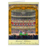 """""""Theatrical Reflection"""" Greeting Card"""