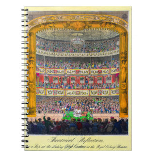 """""""Theatrical Reflection"""" Notebook"""