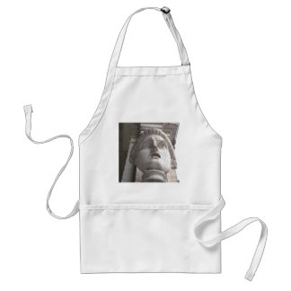 Theatrical Roman  statue Adult Apron