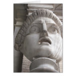 Theatrical Roman  statue Cards