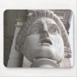 Theatrical Roman  statue Mouse Mats