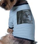 Theatrical Roman  statue Pet T Shirt