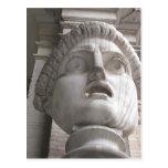 Theatrical Roman  statue Postcards