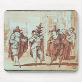 Theatrical Scene Mouse Pad