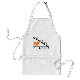 Theatrically Inclined Adult Apron