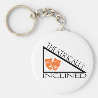 Theatrically Inclined Keychain