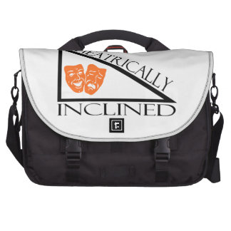 Theatrically Inclined Laptop Messenger Bag