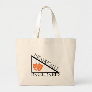Theatrically Inclined Large Tote Bag