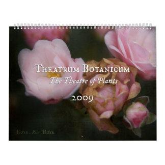 Theatrum Botanicum 2009 Calendar