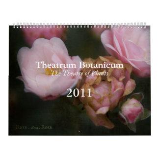 Theatrum Botanicum 2011 Calendar