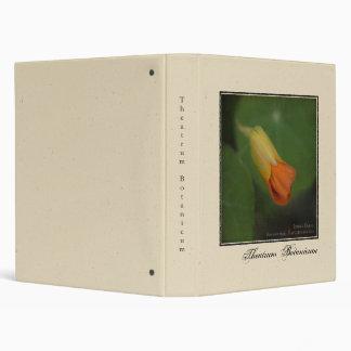 Theatrum Botanicum • Indian Cress Binder