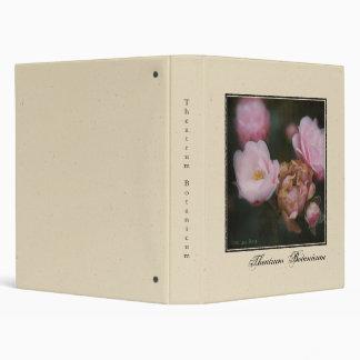 Theatrum Botanicum • Rose Vinyl Binder