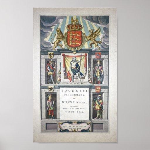 Theatrum Orbis Terrarum, atlas Norvs de Sive Poster