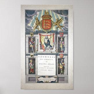 Theatrum Orbis Terrarum, Sive Atlas Norvs Poster