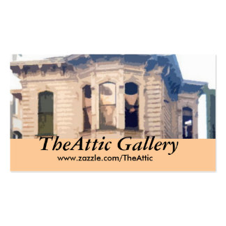 TheAttic Gallery - Profile Card Double-Sided Standard Business Cards (Pack Of 100)
