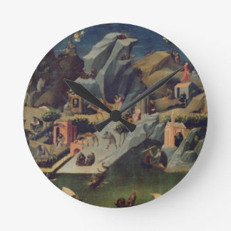 Thebaid, c.1410 (tempera on panel) (see also 16294 round clock