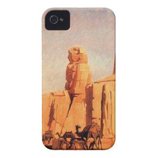 Thebes Colosseums, Memnon y Sesostris (study) Carcasa Para iPhone 4