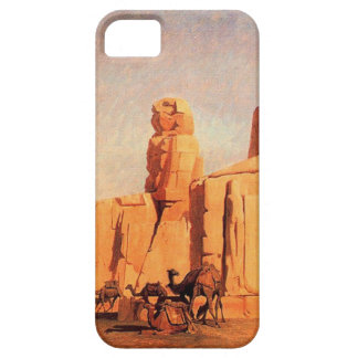 Thebes Colosseums, Memnon y Sesostris (study) Funda Para iPhone SE/5/5s