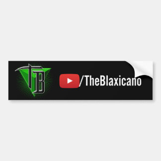 TheBlaxicano URL/Logo - Bumper Sticker