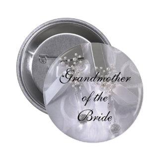 theBride de Grandmotherof Pin Redondo De 2 Pulgadas