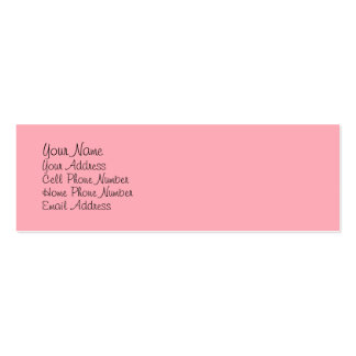 TheColorWheel Light Pink 1 Skinny Profile Card