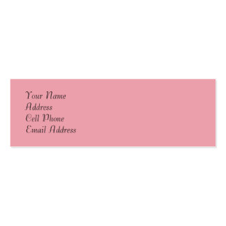 TheColorWheel Light Pink 2 Skinny Profile Card
