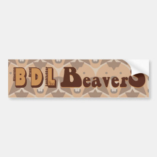 """theCUBICLE"" BDL Beavers Bumper Sticker"