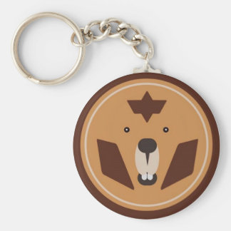 """theCUBICLE"" BDL Beavers Keychain"