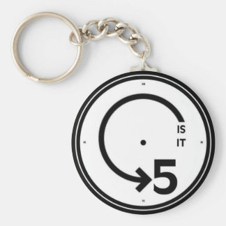 """theCUBICLE"" Is It 5 Keychain"