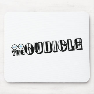 """""""theCUBICLE"""" Logo (1) Mouse Pad"""