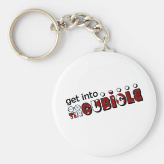 theCUBICLE Season 1 - Wounds Basic Round Button Keychain