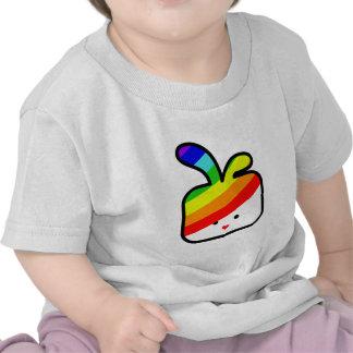 thecutescream square square bunny w rainbow pride tshirts