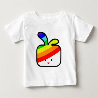 thecutescream square square bunny w rainbow pride tshirt