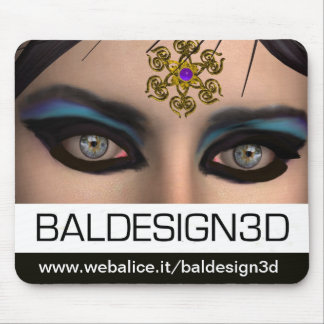 THEDA / Baldesign3d Mouse Pad