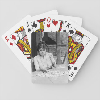 Theda Bara 1915 silent film Playing Cards