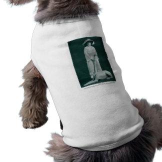Theda Bara 1915 silent movie actress w/ pup Tee
