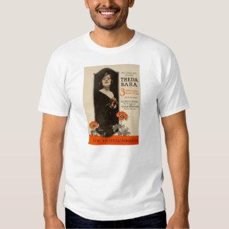 Theda Bara 1919 movie advertisements T-shirt