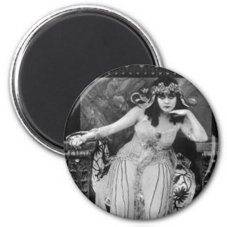 Theda Bara as Cleopatra 2 Inch Round Magnet