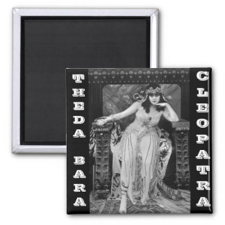 Theda Bara as Cleopatra 2 Inch Square Magnet