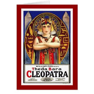 Theda Bara as Cleopatra Card