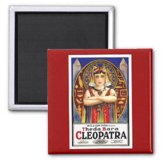Theda Bara as Cleopatra Vintage Movie 2 Inch Square Magnet