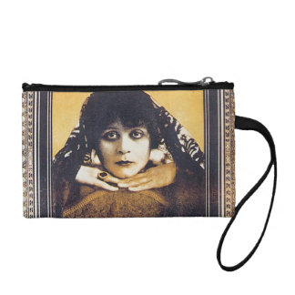 Theda Bara Change Purse