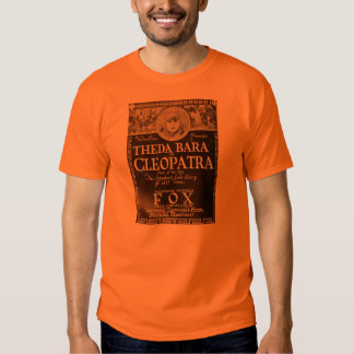 Theda Bara 'Cleopatra' 1918 promo T-shirt