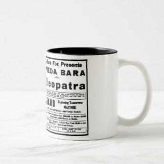 Theda Bara Cleopatra 1918 Two-Tone Coffee Mug